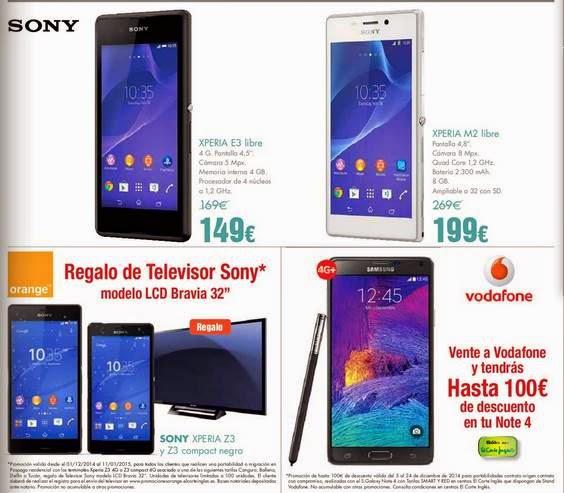 Smartphone Sony Navidad 2014