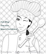 Mais um Selinho,....Super Cozinheira,...Oferecido pela Andreia no dia 09.Fevereiro.2011