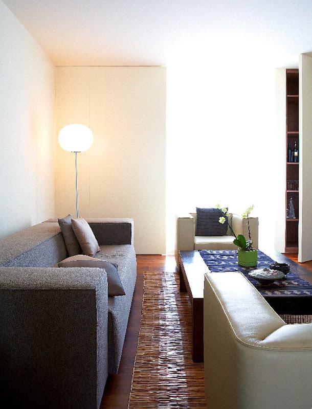 Interiores minimalistas gavin jackson interiorismo for Paredes sensoriales