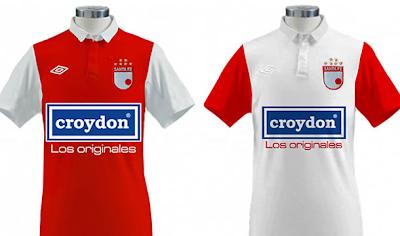 La Nueva camiseta de Santa Fe 2011 – 2012
