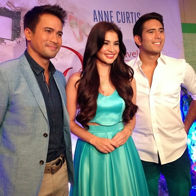 Dyesebel presscon photos - sam, anne, gerald