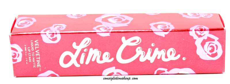 Review: Velvetine Lip Stain Pink Velvet - Lime Crime