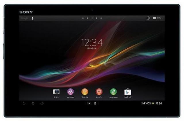 Xperia Tablet Z, la nueva tablet de Sony