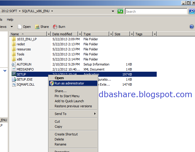 will open here click on New SQL server failover cluster installation