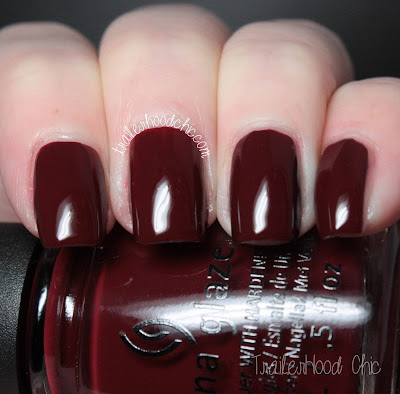 china glaze cheers holiday review swatches wine down for what