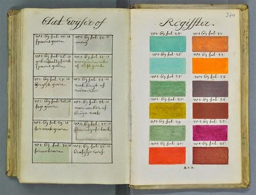 271年前に、800ページに及ぶたった一冊の手書きの本から色の百科事典「パントン」が始まったとは知らなかった。