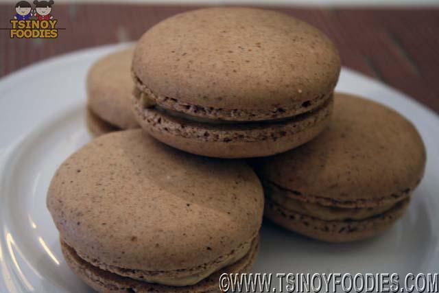 foie gras macaron