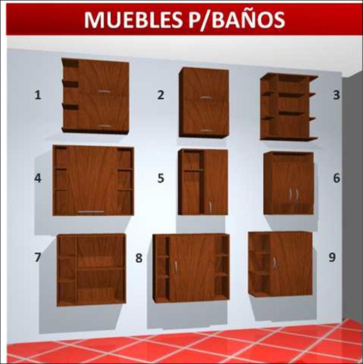 Casas cocinas mueble modulos para banos - Modulos de bano ...