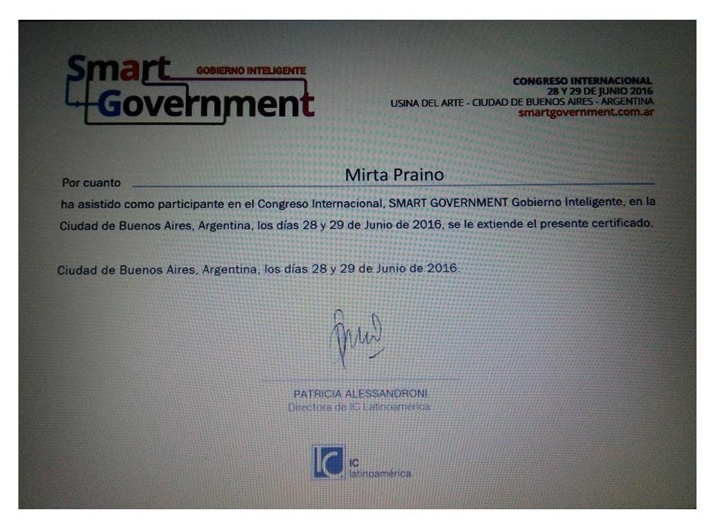 Congreso Internacional Smart Goverment