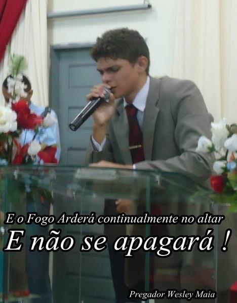 Pregador Wesley Maia