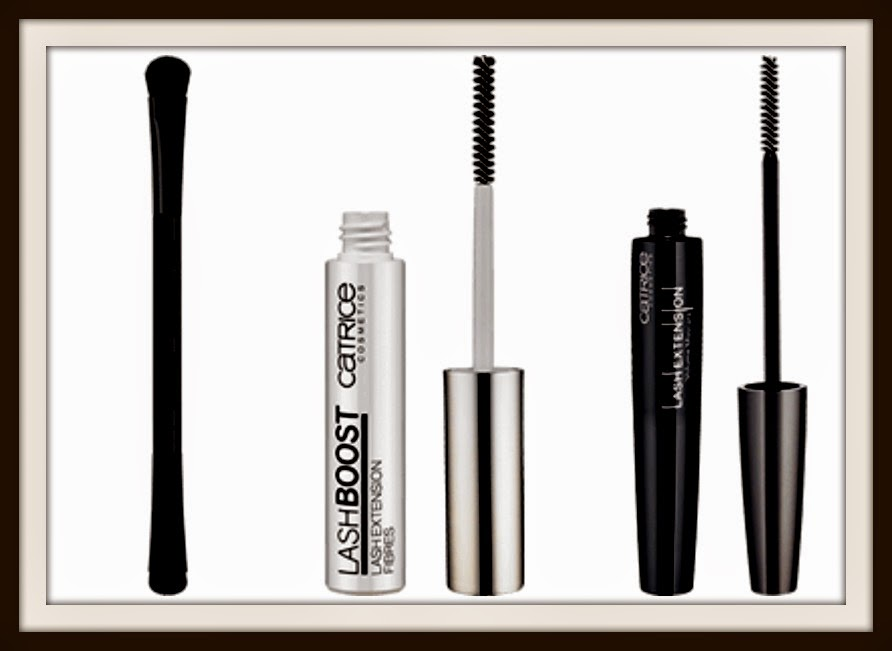 Catrice - It Pieces - Duo Eyeshadow brush - Lash Boost Extension - Lash Extension Volume Mascara