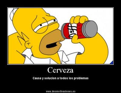 Imágenes graciosas, bizarras, estupidas - Página 7 Homero+Cerveza+desmotivacion