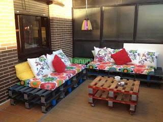 Mesas de Centro Recicladas,  Ideas para Reciclar Palets, Decoracion Ecoresponsable