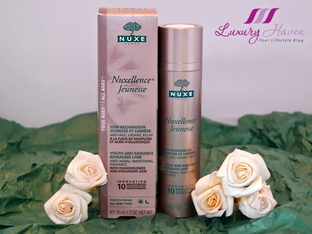 nuxellence youth radiance revealing anti aging care review