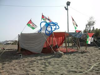 Solidaridad con el pueblo Saharaui.