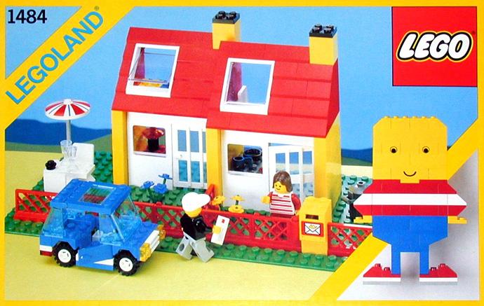 Steve 39 s lego blog the classic lego house for Classic house 1991