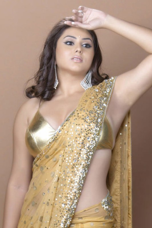 Namitha Hot in Saree