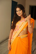 Midhuna New photo session in Saree-thumbnail-3