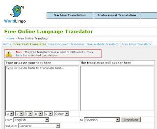 traduttori inglese