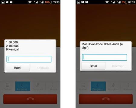 Cara Isi Ulang Pulsa Via SMS Banking BCA