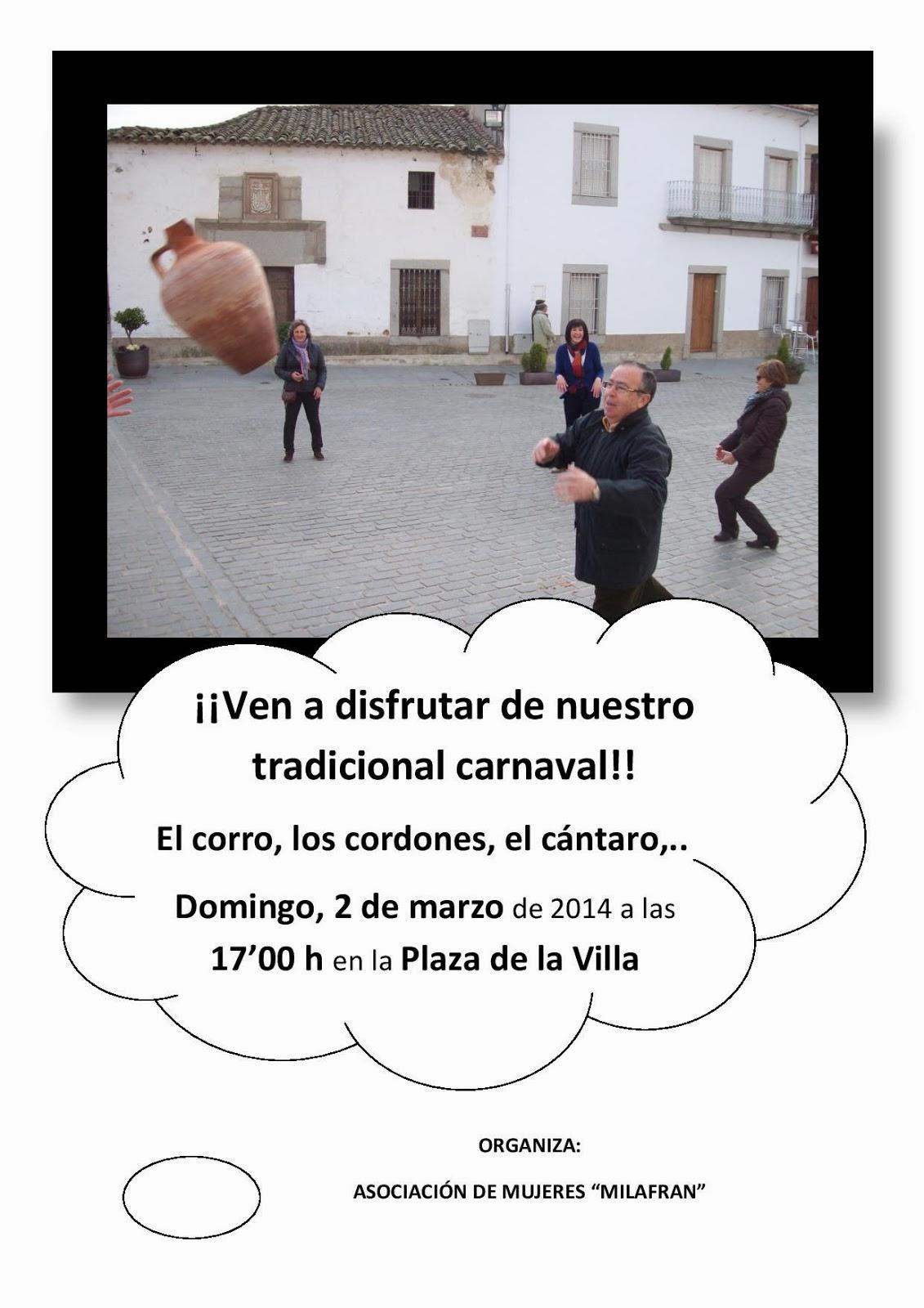 Carnaval, tradiciones, Dos Torres