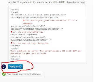 claim website di alexa