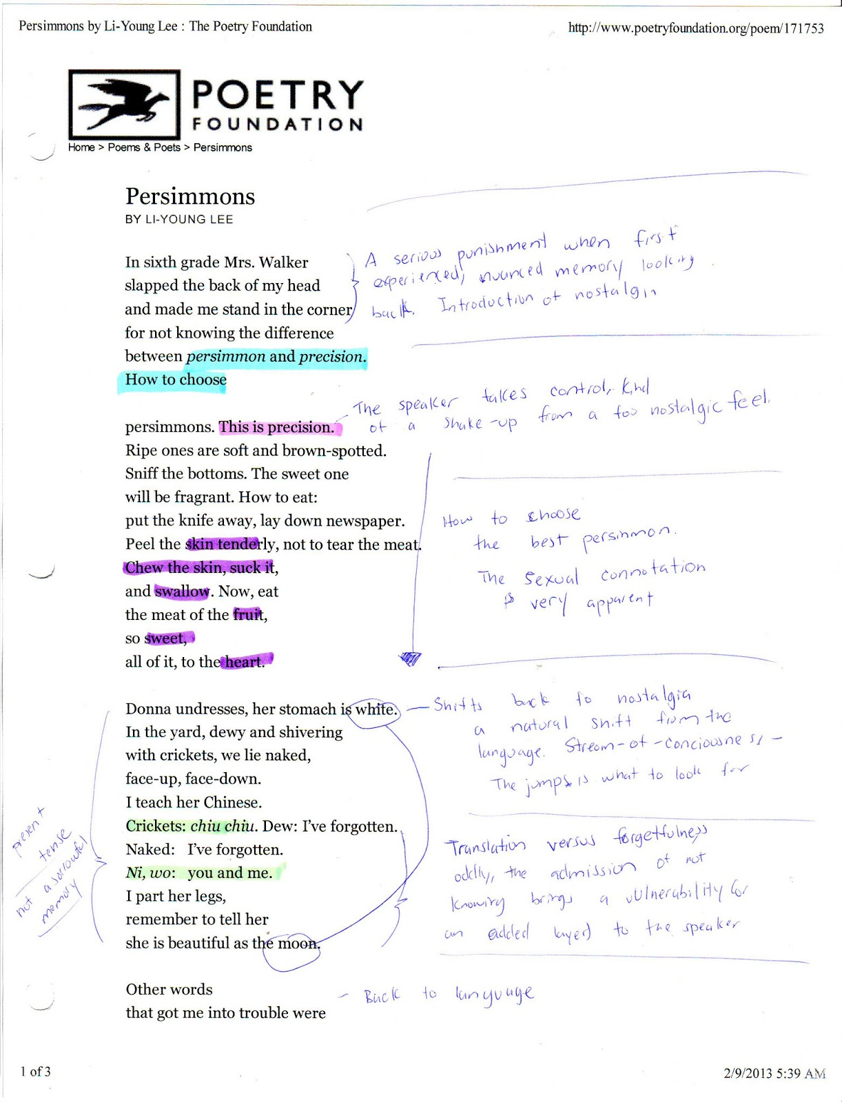 analysis of the poem the story Read stories and poems in english to improve your language level.