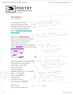 analysis of the poem a story by li young lee
