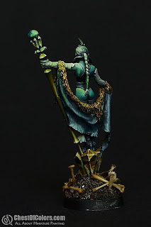 Vampire sorceress - originally Ice Sorceress (Freebooter Miniatures)