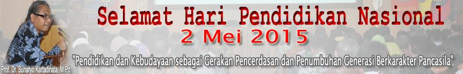 Selamat Hari Pendidikan Nasional 2015