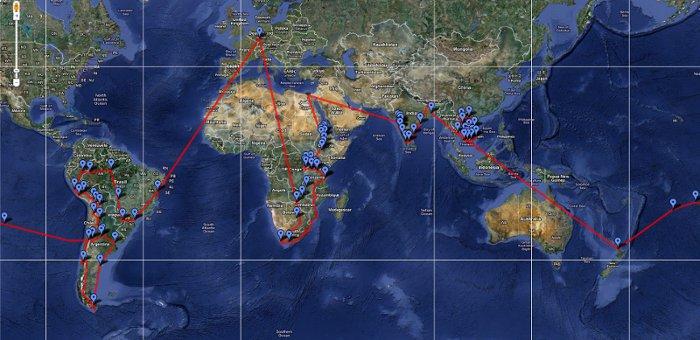 Sojorner Map
