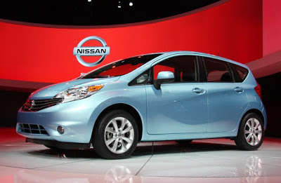 2014 Nissan Versa Note pushes the little hatchback forward