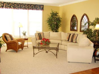 home interior design and interior nuance model home
