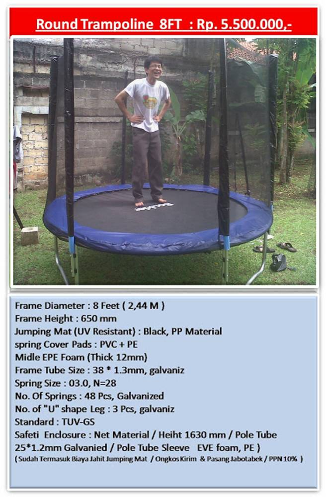 Trampoline Daftar Harga Trampolin