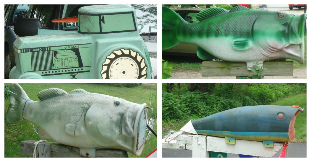 Take time for lemonade small town junkin 39 for Fish mailboxes for sale