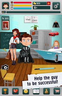 Screenshots of the Schoolboy: Life simulator! for Android tablet, phone.