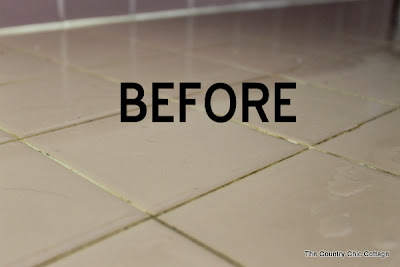 Cleaning Kitchen Counter Tile Grout Naturally