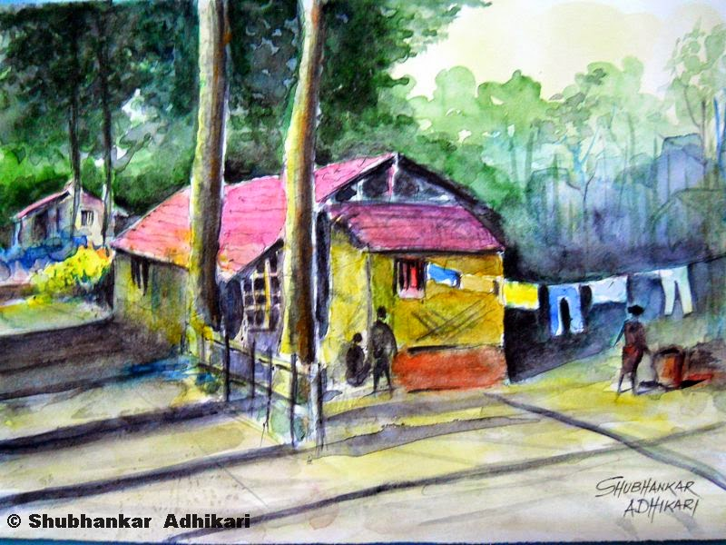 Artworks by Shubhankar Adhikari: - 112.9KB