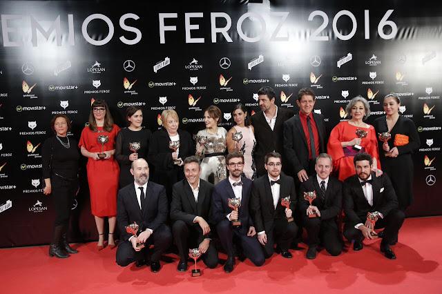 'La novia' se consagra en la noche de los Premios Feroz