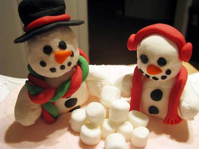 Gumpaste Fondant Snowman