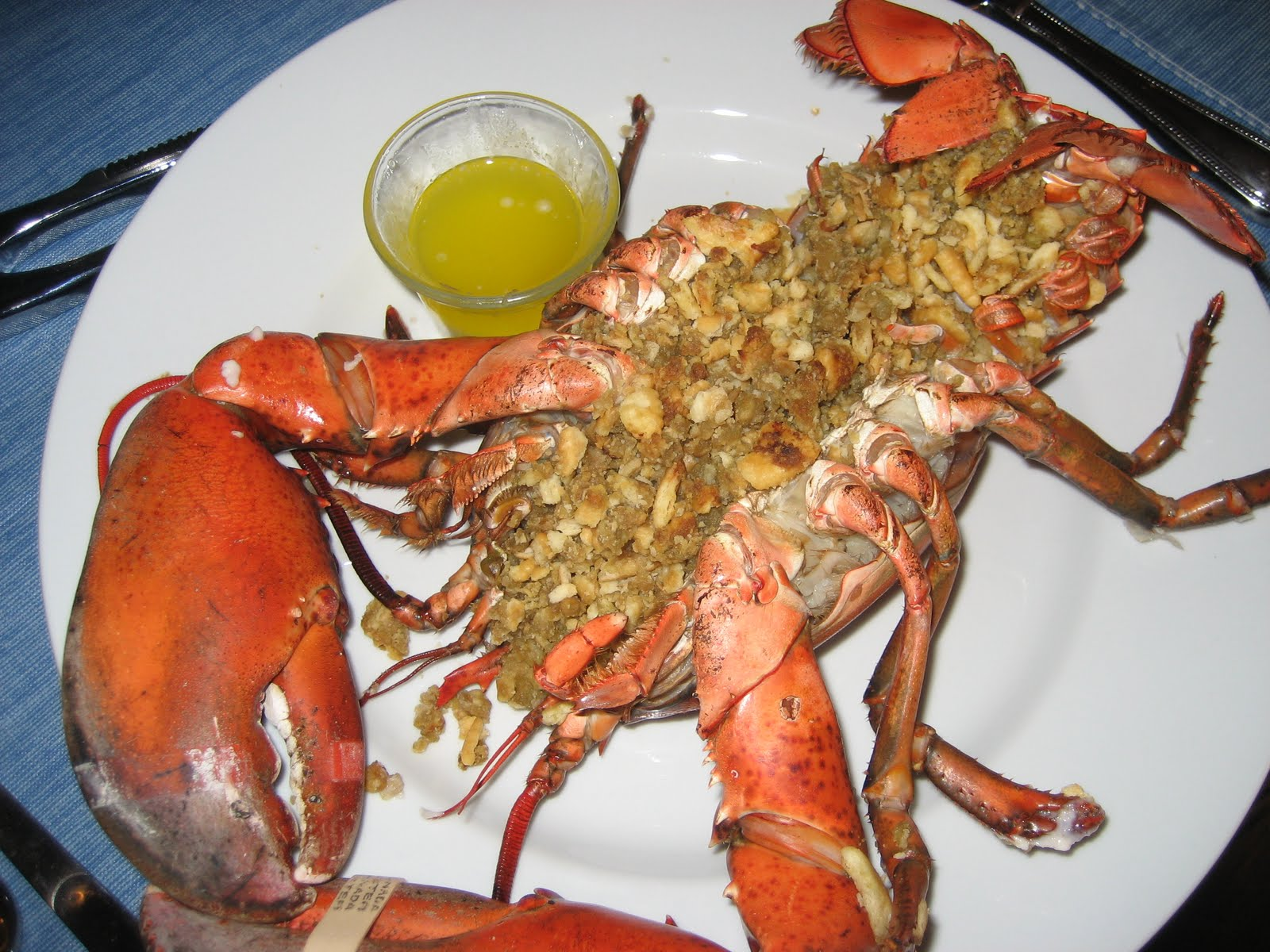 ... Tasty from My Kitchen: New England Style Baked Stuffed Lobster