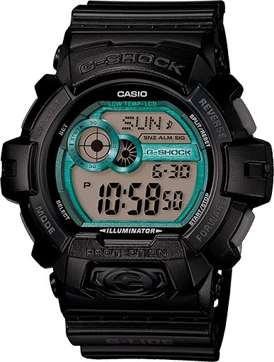 Casio G-Shock GLS8900-1 G-LIDE Black Big Case