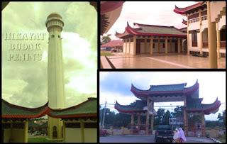 masjid cina, masjid Jubli Perak Sultan Ismail Petra, rantau panjang, kelantan, masjid unik.