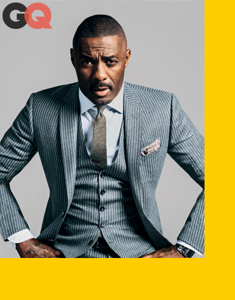 Idris Elba by Sebastian Kim for GQ October 2013
