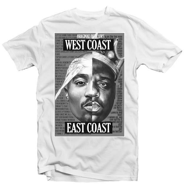 tupac tshirt design biggie