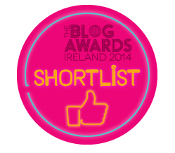 Shortlisted Best Lifestyle Blog 2014