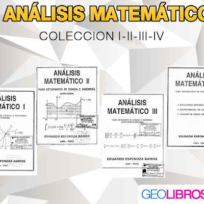 Descargar Analisis Matematico Coleccion I II III IV | Matematicas