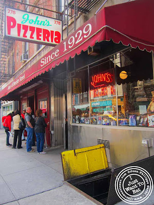 Image of John's pizzeria in NYC, New York
