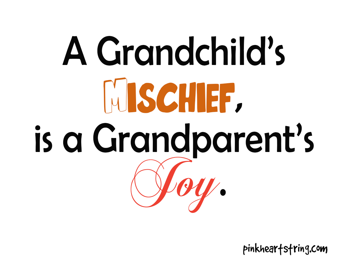 Quotes For Grandpa Pink Heart String Quotes For Grandparents 'coz Everyday Is Their Day