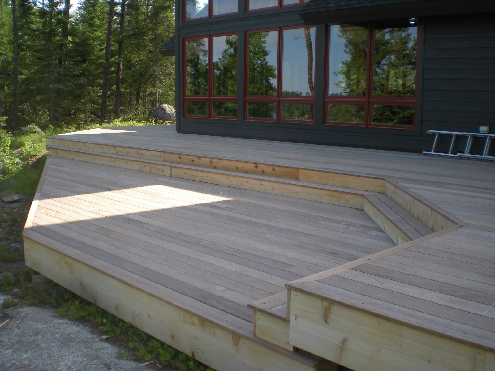 Projects progress thoughts stuff ipe decking and for Ipe decking